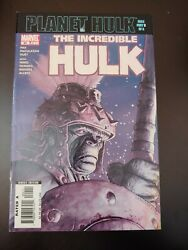 Incredible Hulk 94 Planet Hulk Part 3 Marvel 2007 Vf+ First Appearance Warbound