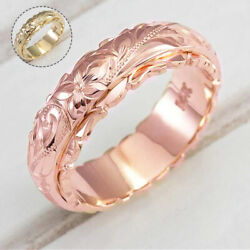 Charming Engagement Rings Romance Women Jewelry Rose Flowers Silver Rings Ca