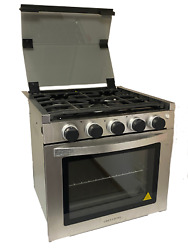 21 Greystone Range Oven Cf-rv21 Stove Lp Gas Ignition Glass Cover
