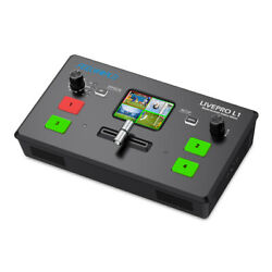 Feelworld Livepro L1 V1 Video Switcher Mixer 4 Hdmi 4 Screens For Live Streaming