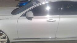 White Driver Front Door Lower Moulding Chrome 000 Fits 2018 Volvo S90 Oem