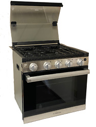 20andrdquo Rv 3-burner Gas Oven Range With Die-cast Grates Furrion F1s21l02a-ss