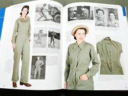 Women For Victory Vol 2 Us Ww2 Waac Army Hat Jacket Skirt Dress Reference Book