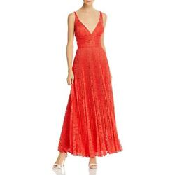 Laundry by Shelli Segal Womens Lace V Neck Formal Evening Dress Gown BHFO 4764 $24.29