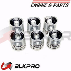 6 New N14 Piston Only For Cummins Engine Parts N14 3081269 3072324