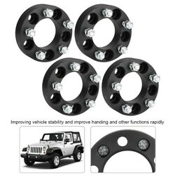 4pcs 1.5in Thick 5x4.5 Hub Centric Wheel Spacers Fit Jeep Wrangler/ford/lincoln