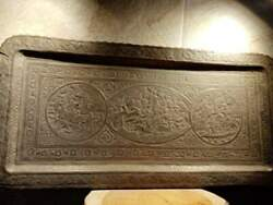 Antique Large Persian Copper Hand Chased Qalamzani Tray Brass Rare Plate 38