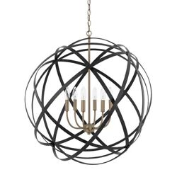 Axis - 6 Light Pendant - In Transitional Style - 0 High By 0 Wide Capital
