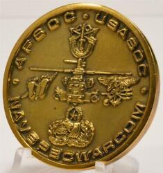 Joint Special Operations Task Force Ii Bosnia Seal Pj Green Beret Challenge Coin