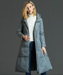 2018 Hot New Style Black Gray Loose Style Large Size Womenand039s Winter Down Jacket