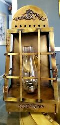 Vintage Underwriters Laboratories Inc. Brass Wall Sconce Lamp. Extremely Rare