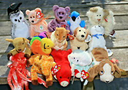 Ty Beanie Babys Lot Of 15 With Tags Lot 4