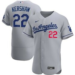 Los Angeles Dodgers Clayton Kershaw Nike Official Mlb Authentic Player Jersey