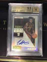 2018-19 Contenders Rookie Ticket Collin Sexton Rc Auto /49 Bgs 9.5