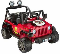 Power Wheels Bbq Fun Jeep Wrangler 12v Battery Powered Ride On Vehicle With Pret