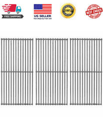 3 Pack 19 1/4 Stainless Steel Wire Cooking Grid Grates Replacement For Select.