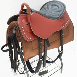Horse Saddle Seat Blanket Pad Full Seat Horse Riding Harness Leather Equestrian