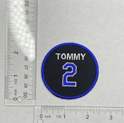 Tommy Lasorda Los Angels LA Dodgers Patch 2021 #2 Jersey Patch Iron On
