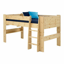 Wizard Pine Effect Mid Sleeper Bed Frame