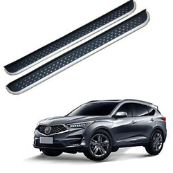 2pcs Fits For Acura Rdx 2019 2020 2021 Fixed Running Board Nerf Bar Side Step