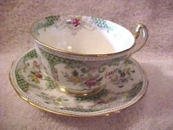 Rare Vintage Adderly Cups And Saucer Best Bone China