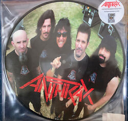 Anthrax Sonisphere Live Trx Picture Disc Ultra Limited 10 Inch Vinyl Rsd 2010