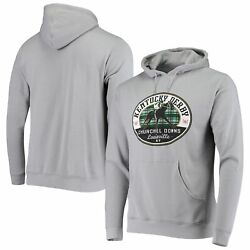 Kentucky Derby Ahead Churchill Downs Pullover Hoodie - Gray