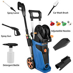 3800psi 2.8gpm Electric Pressure Washer High Power Cleaner Water Sprayer 1800w