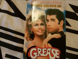 Vhf/dvd Collectible Grease Movie. All The Scripted Words Written In Booklet