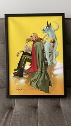The Will Lying Cat Saga Comic Canvas Print - 81/100 Signed Fiona Staples Vaughan