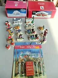 Lot Of 20 Ceramic Christmas Figures For Train Layout. 1.5-2 Tall, O-g Scale