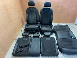 Audi S3 A3 8v Leather Suede Interior Seats With Doorcards 13-17