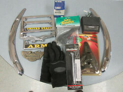 Odd Motorcycle Parts And Tools Garage Clean-up Lot Some New