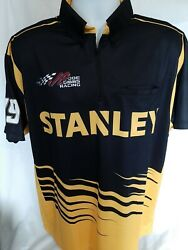 Joe Gibbs Racing Carl Edwards Team Issued Race Used Large Stanley Pit Crew Shirt