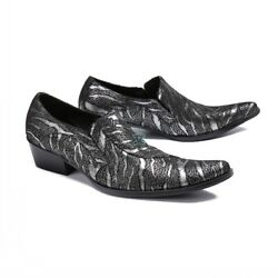 Mens Fashion New Stylist Menand039s Shoes Catwalk Stage Leather Dress Dance Shoes