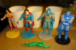 Super Powers Cup Holders Vintage Burger King Kidand039s Meal Toys