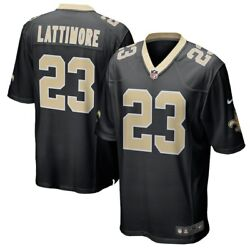 New Orleans Saints Marshon Lattimore 23 Nike Menand039s Official Nfl Game Jersey