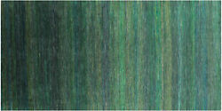5and039 10 X 12and039 0 Super Savannah Gabbeh Wool And Silk Hand-knotted Rug - Q6877