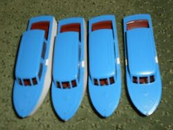Lionel 6416 Cabin Cruiser Boats Blue And White New Old Stock