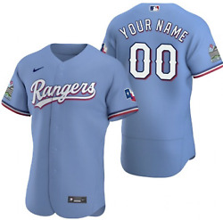 Texas Rangers On-field Stitched Jersey - Over 700 Sold - Custom Or Current