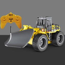 Huina 2.4g Remote Control Battery Toy Snow Plow Car 1/18 586 Model Rc Truck Gift