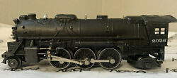 Lionel No 2026 2-6-2 Locomotive With 6466wx Whistle Tender
