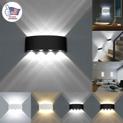 Led Wall Lights Modern Up Down Sconce Lighting Fixture Lamp Indoor Outdoor 6w/8w