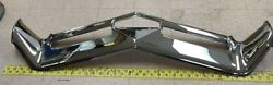 New Oem Gm Chrome Front Chrome Bumper D1466z 1966-1967 Buick Riviera Very Nice