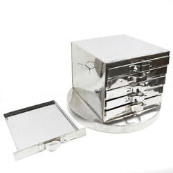 5-layer Steamer Machine Steaming Drawer Tray Stainless Steel For Food Rice Roll