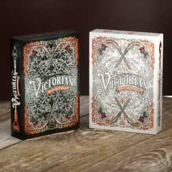 Victorian Playing Cards - 2 Deck Set W/ Matching Numbers - Limited Edition 1,000