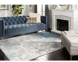 Brentwood 11x15 Safavieh Indoor Area Rug Blue Gray New Pickup Only Modern Abstra