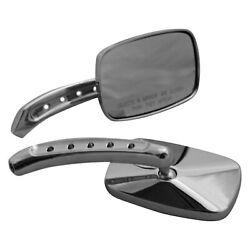 Cipa 01944 Left/right Small Motorcycle Chrome Mirror Set