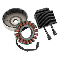 For Harley-davidson Road King 09-10 Cycle Electric 80 Series Charging Kit