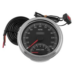 Bikerand039s Choice Electronic Cable Driven Speedometer/tachometer Combo